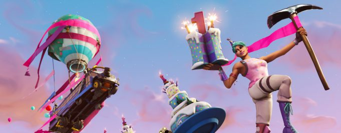 Aniversario Fortnite