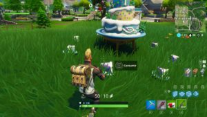 Desafios Cumpleaños Fortnite